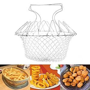 Foldable Deep Fry Basket