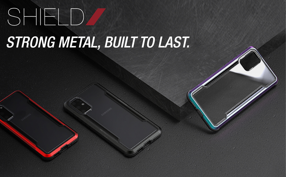 samsung galaxy s20 ultra plus phone case defense shield military grade test aluminum frame protect
