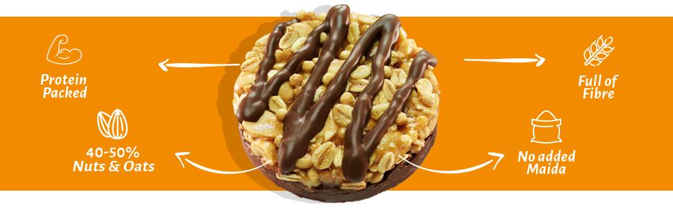 tiffin box, open secret cookies, choco pack, cashew cooky, choco butter, open box, pack 4, box 6