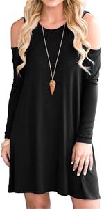 Women's Cold Shoulder Dress