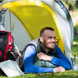 camping vest