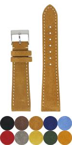 classic suede strap