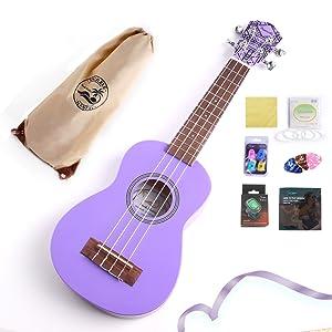 ukulele purple kit