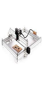 CNC rango de grabado: 65 x 50 cm. M/áquina de grabado DIY grabado l/áser con cabezal l/áser de 2500 mW
