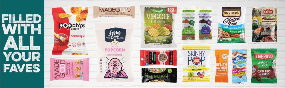 15 keto snack box