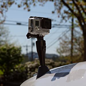 Gopro camera antenna mount car accessories film video auto replacement