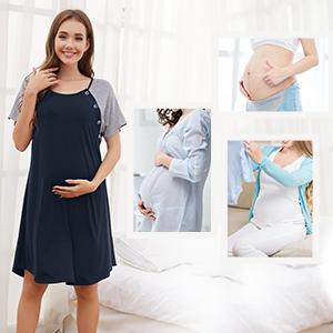 PREGNANCY SHIRTS DRESS FOR WOMEN