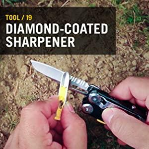 Diamond-Coated Sharpener, Leatherman, Leatherman Signal, Multitool, Multipurpose Tool