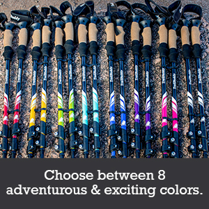 choose from 8 adventures and exciting colors