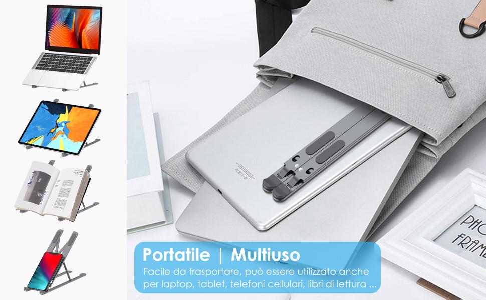 Supporto PC Portatile