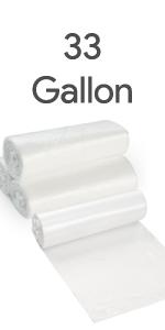 33 Gallon Trash Bags