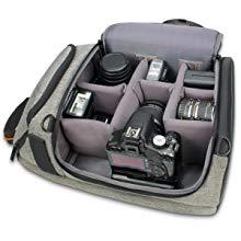 Mochila para cámara de Fotos Reflex USA GEAR con divisores ...