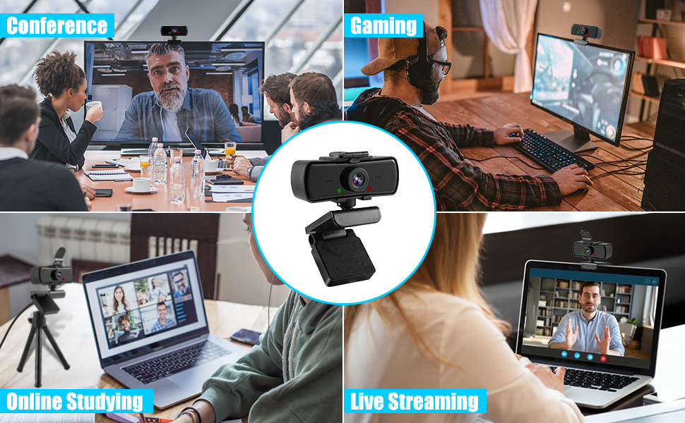 webcam with zoom
