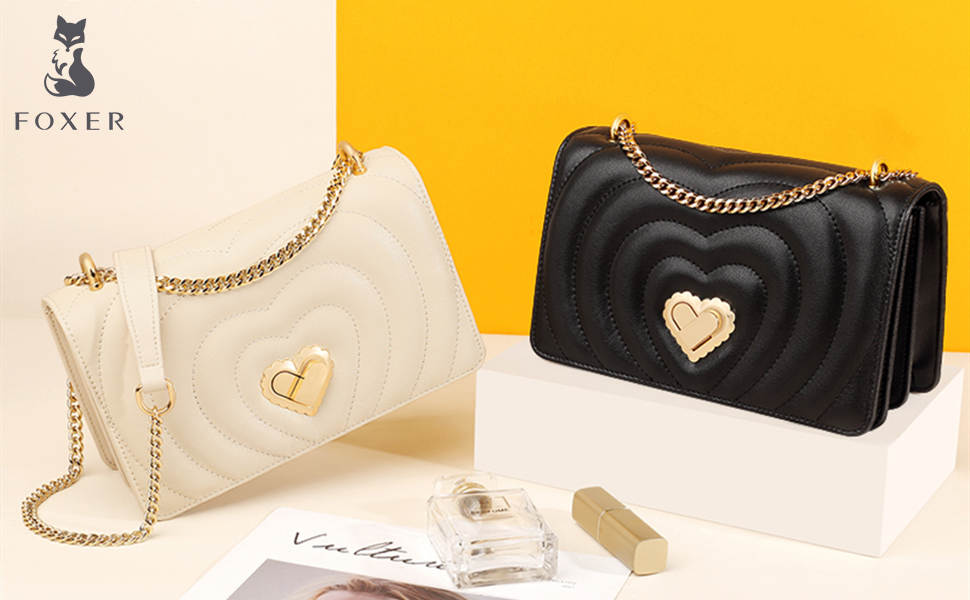 Small Leather Crossbody Bags for Women
