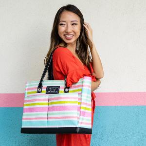 scout uptown girl utility tote bag teacher bag nurse bag beach pool gift