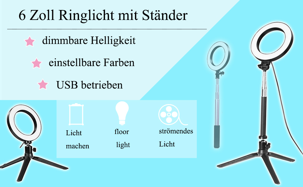 Docooler Lichtring Mit Breitem Dimmbereich Dimmbarer Elektronik