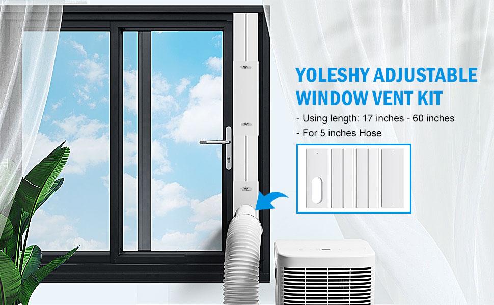 YoleShy Portable Air Conditioner Window Kit