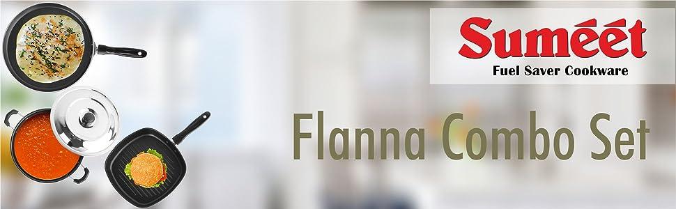 SUMEET FLANNA COMBO SET