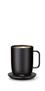 black coffee mug 14 oz