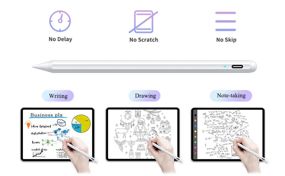stylus pen compatible with apple iPad 2018-2020