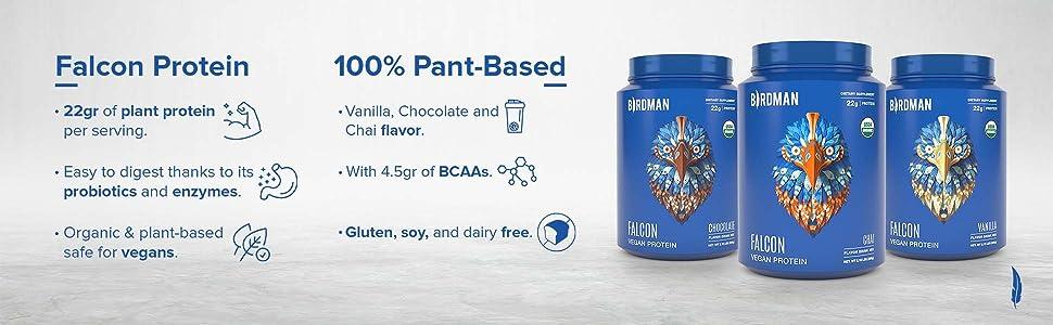 Falcon Protein, Vegan Protein, Plant Based Protein, Take Flight, Plant Based, Veggie Protein