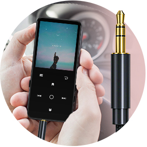 mp3 player - supports AUX assistance