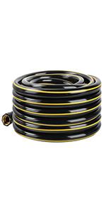 black garden hose