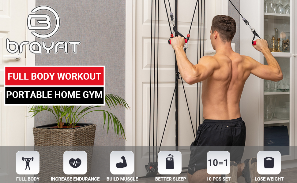 Full Body Exercise Home Gym Door Gym Portable Home Gym