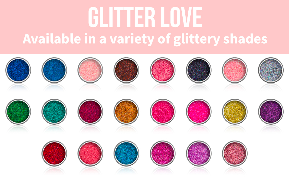 Glitter Love 22 shades
