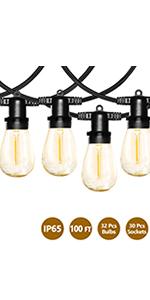 100ft led string light