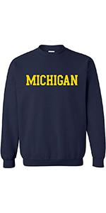 NCAA Basic Block Adult Crewneck Sweatshirt