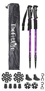 snowshoeing poles
