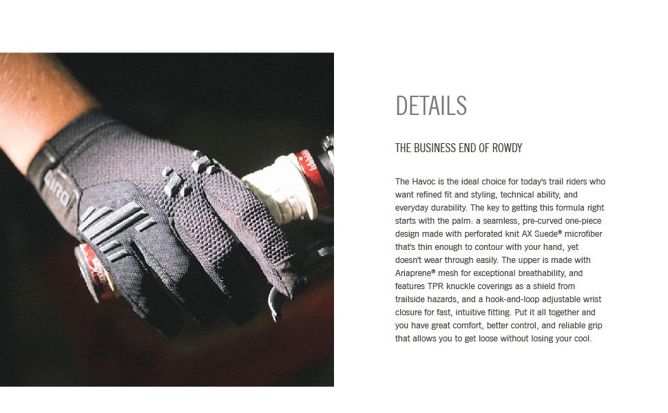 giro havoc bike gloves