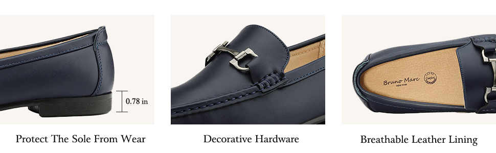 Find your style match with the Bruno Marc Loafer that perfect for both the office and weekend wear.