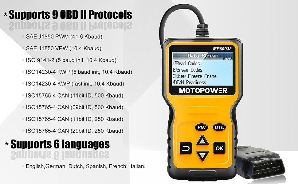 obd2 code scanner reader
