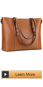 Laptop Leather Tote