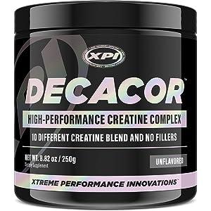 XPI Decacor Creatine complex 250 Grams 50 servings