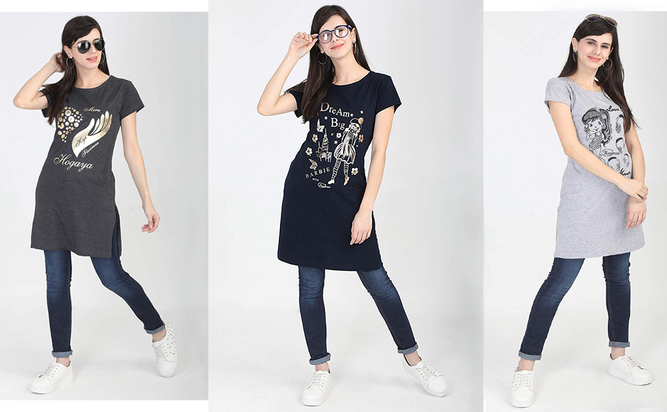 round neck top for women