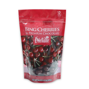 Chocolate Covered Cherries in a 24 ounce bag