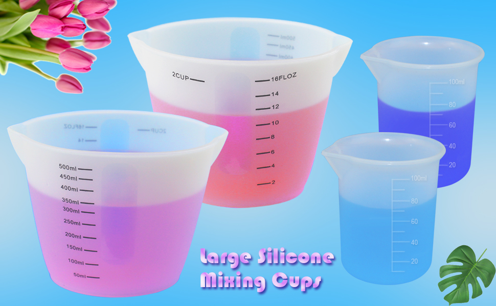 Large Silicone Measuring Cup