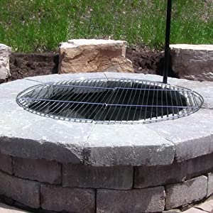 grate over fire pit