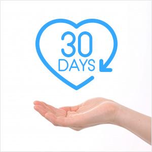 30日間安心の保証つき