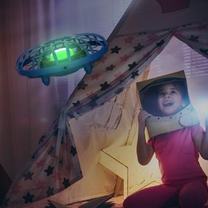 EACHINE E111, Mini Drone UFO para Niños, 3D Giros, Batería ...