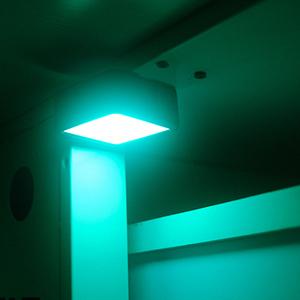 led light for recording video