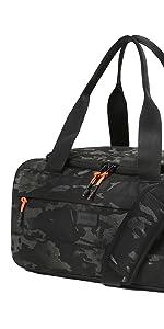 Vooray boost duffel overnight weekender waterproof shoe pocket organization compact bag carry-on