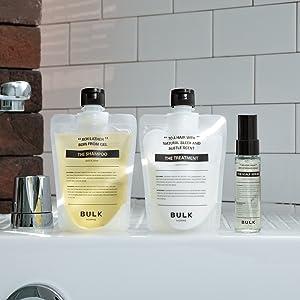bulk homme, the shampoo, shampoo for men, men shampoo, hair shampoo, sulphate free shampoo