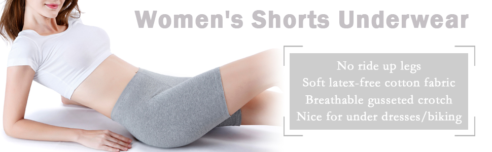 a6837407619 wirarpa Women's Anti Chafing Cotton Underwear Boy Shorts Bike Long ...