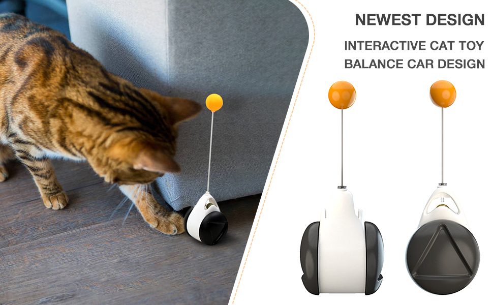 Interactive Cat Toy Balance Car