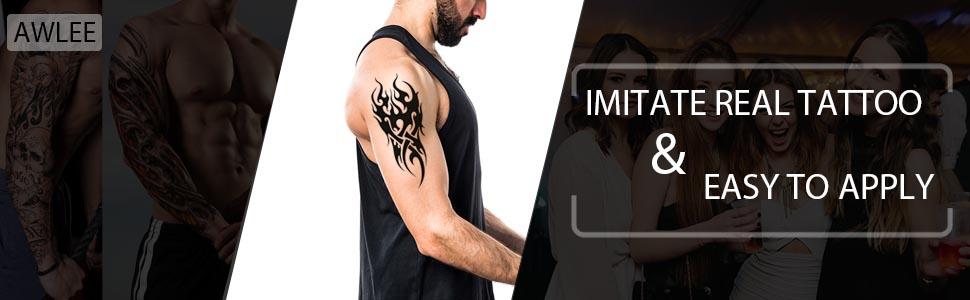 Temporary tattoo stickers