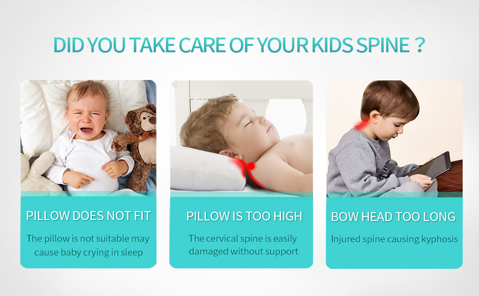 Toddler Pillow for 3-9 years